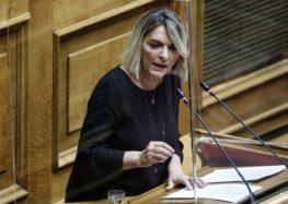 Απάντηση της Υπουργού Παιδείας στην αναφορά της Βουλευτή ΣΥΡΙΖΑ Φλώρινας Π. Πέρκα για την απόσυρση του Σ/Ν για την Παιδεία