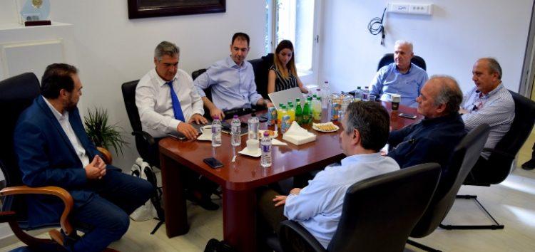 Διαδοχικές συναντήσεις στην Π.Ε. Φλώρινας του Συντονιστή Σχεδίου Δίκαιης Αναπτυξιακής Μετάβασης Κωνσταντίνου Μουσουρούλη (pics)