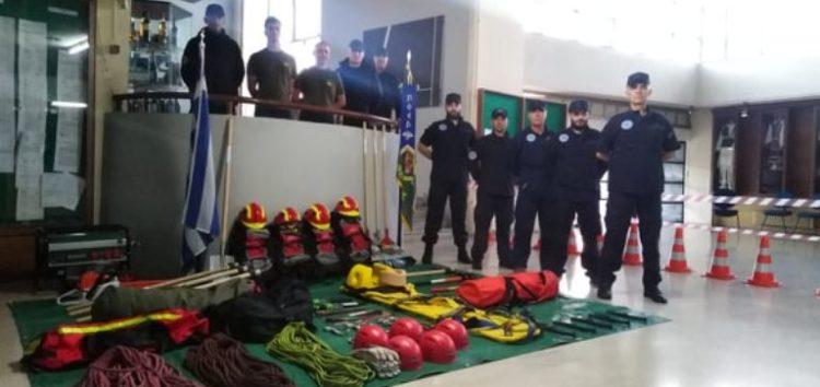 Ενημέρωση των μελών της Λέσχης Ειδικών Δυνάμεων Φλώρινας και συντήρηση του υλικού για την αντιμετώπιση των δασικών πυρκαγιών