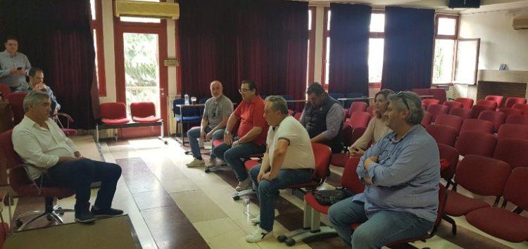 Συνάντηση Σπάρτακου – Μουσουρούλη: Το σωματείο έκρουσε, για μία ακόμα φορά, το καμπανάκι του κινδύνου
