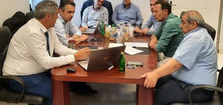 Συνάντηση του Εργατικού Κέντρου Φλώρινας με τον Συντονιστή για τη δίκαιη μετάβαση