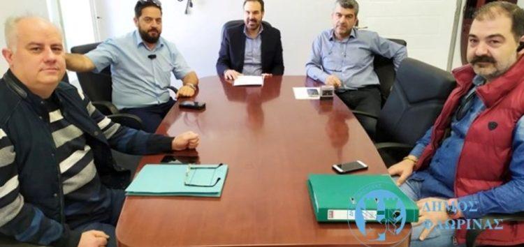 Υπογραφή σύμβασης του έργου «Ασφαλτοστρώσεις οδών, κατασκευή τοιχείων αντιστήριξης και περιφράξεων Δήμου Φλώρινας»