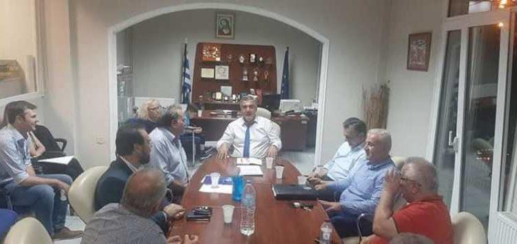 Συνάντηση της διοίκησης του Επιμελητηρίου Φλώρινας με τον Κ. Μουσουρούλη