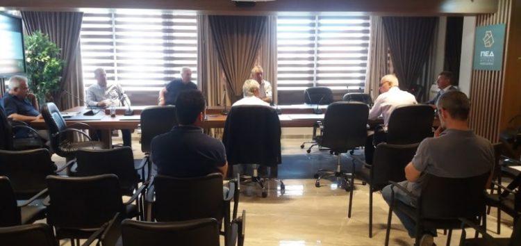 Η τελευταία συνεδρίαση του Διοικητικού Συμβουλίου της ΠΕΔ Δυτικής Μακεδονίας (pics)