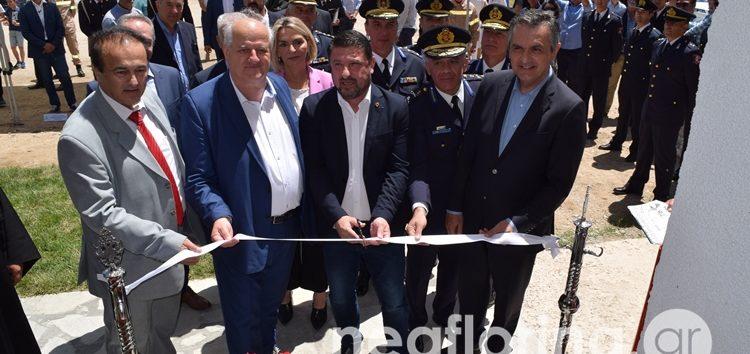 Εγκαινιάστηκε το Πυροσβεστικό Κλιμάκιο Πρεσπών από τον υφυπουργό Νίκο Χαρδαλιά (video, pics)
