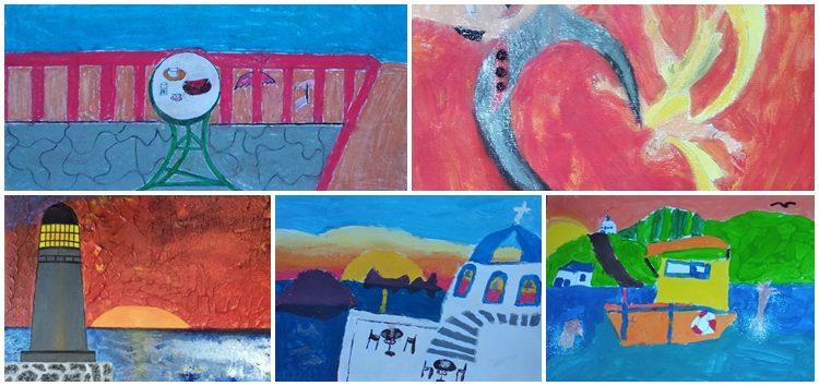 Σάρωσε το παιδικό τμήμα ζωγραφικής της Λέσχης Πολιτισμού Φλώρινας, με διδάσκουσα την εικαστικό Δήμητρα Ξενάκη, στην Aegean Kids Biennale 2020