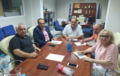 Συνάντηση του Γιάννη Αντωνιάδη με την διοίκηση του Επιμελητηρίου Φλώρινας
