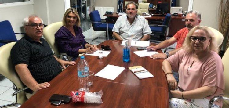 Συνάντηση εργασίας της Βουλευτή ΣΥΡΙΖΑ Πέτης Πέρκα με τη διοίκηση του Επιμελητηρίου Φλώρινας