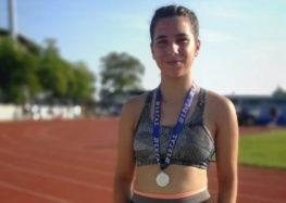 Δεύτερη θέση στο έξαθλο για την αθλήτρια της ΓΕΦ Λουκία Κεχαγιά, στο Πανελλήνιο Πρωτάθλημα Κ16