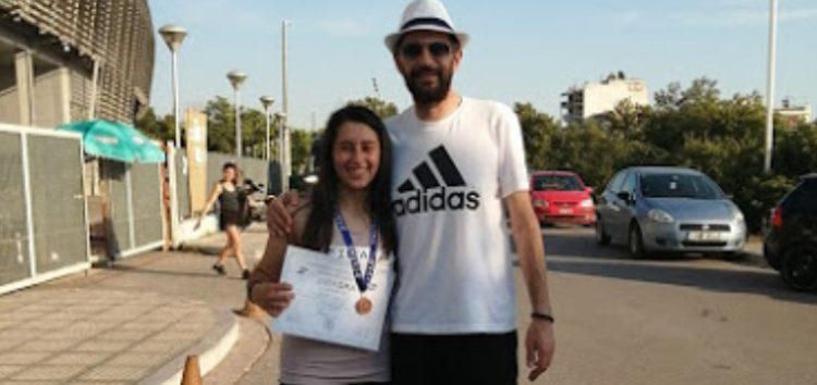 «Χάλκινη» η Πετανίδου του ΠΑΣ Φλώρινα στο Πανελλήνιο Πρωτάθλημα Στίβου Κ16