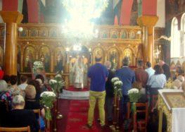 Αρχιερατική Πανηγυρική Θεία Λειτουργία στην Τ.Κ. Αναργύρων του δήμου Αμυνταίου (pics)