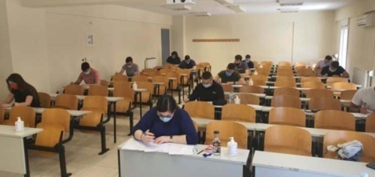 Ολοκληρώθηκε με επιτυχία η εξεταστική με φυσική παρουσία φοιτητών στο Πανεπιστήμιο Δυτικής Μακεδονίας