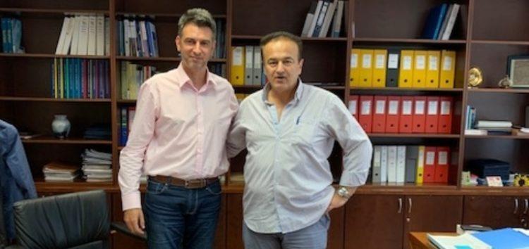 Συνάντηση του Γιάννη Αντωνιάδη με τον Γ.Γ. Δημοσίων Επενδύσεων και την ειδική Γραμματέα Διαρθρωτικών Προγραμμάτων