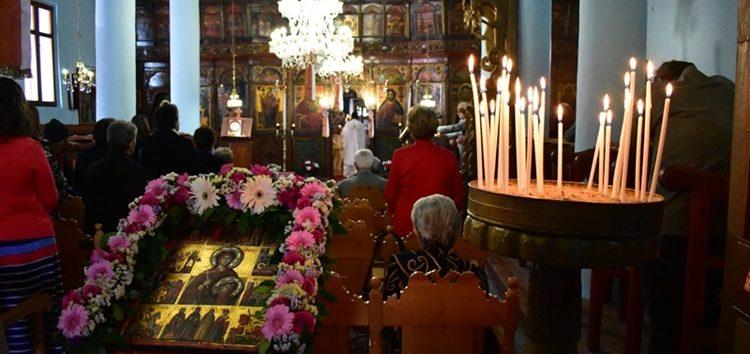 Ο εορτασμός της Αγίας Παρασκευής στο Πισοδέρι (pics)