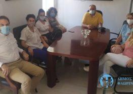 Συνάντηση του Δημάρχου Φλώρινας με τον Σύλλογο Γονέων και Κηδεμόνων Δημοτικού Σχολείου Σιταριάς