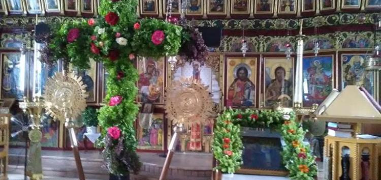 Ύψωση του Τιμίου Σταυρού στον Ιστορικό Ιερό Ναό του Αγίου Γεωργίου Φλώρινας (video)