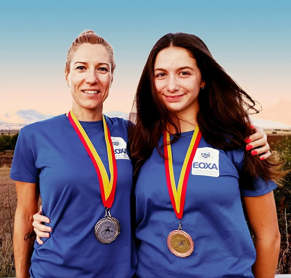Οι Φλωρινιώτισσες αθλήτριες Λαδοπούλου και Τίτα, μαζί στο διεθνές βάθρο των νικητών 2