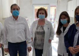 Επίσκεψη της βουλευτή ΣΥΡΙΖΑ Πέτης Πέρκα στο Κέντρο Υγείας Φλώρινας (pics)