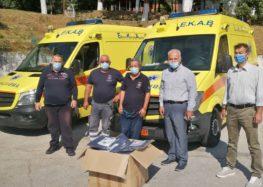 Η Αντιπεριφέρεια Φλώρινας στηρίζει το ΕΚΑΒ στη μάχη ενάντια στον κορωνοϊό
