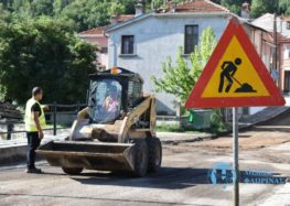 Συνεχίζονται οι ασφαλτοστρώσεις στη Φλώρινα