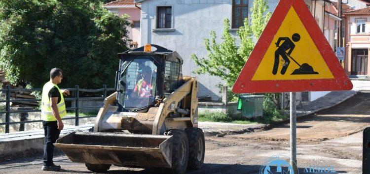 Με την οδό Καλλέργη συνεχίζονται οι ασφαλτοστρώσεις στη Φλώρινα