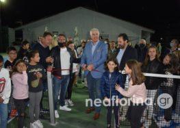 Τα εγκαίνια του Κέντρου Αντισφαίρισης του Ομίλου Ξιφασκίας Φλώρινας (video, pics)