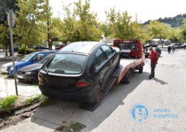 Απομακρύνονται τα εγκαταλελειμμένα αυτοκίνητα από τους δρόμους της Φλώρινας (pics)