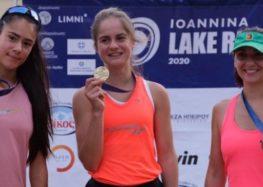 Δεύτερη θέση για τη Μαρία Μπέλλη στο Ioannina Lake Run