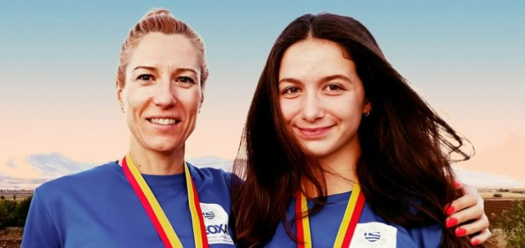 Οι Φλωρινιώτισσες αθλήτριες Λαδοπούλου και Τίτα, μαζί στο διεθνές βάθρο των νικητών