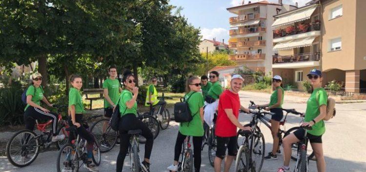 Ποδηλατική εξόρμηση του Europe Direct Δυτικής Μακεδονίας (pics)