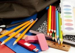 Παραλαβή σχολικών ειδών και τσαντών για την Π.Ε. Φλώρινας και διανομή σε εταίρους