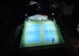 Δύο γήπεδα αντισφαίρισης προστέθηκαν στις εγκαταστάσεις του «Ο.ΞΙ.Φ. Αρένα» (pics)