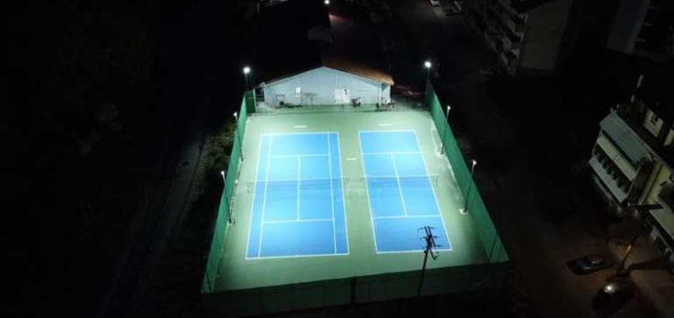 Εγκαίνια του Κέντρου Αντισφαίρισης του Ομίλου Ξιφασκίας Φλώρινας