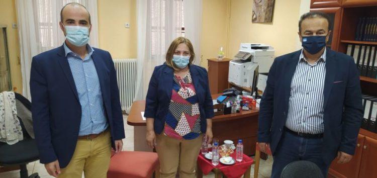 Επίσκεψη του βουλευτή Γιάννη Αντωνιάδη στο Κέντρο Κοινωνικής Πρόνοιας
