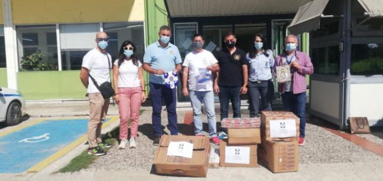 Τρόφιμα και είδη πρώτης ανάγκης παρέδωσαν στην Καρδίτσα τα μέλη της Τοπικής Διοίκησης Φλώρινας της Διεθνούς Ένωσης Αστυνομικών