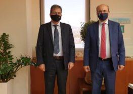 Συνάντηση του Πρύτανη Πανεπιστημίου Δυτικής Μακεδονίας με τον Υπουργό Περιβάλλοντος και Ενέργειας και τον Γενικό Γραμματέα Έρευνας και Τεχνολογίας