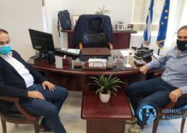 Συνάντηση του Δημάρχου Φλώρινας Βασίλη Γιαννάκη με τον Βουλευτή Φλώρινας Γιάννη Αντωνιάδη