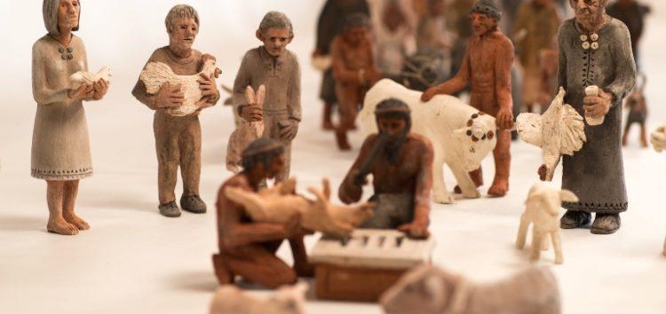 Έκθεση Μικρογλυπτών του Γιάννη Καστρίτση με τίτλο «Ο δρόμος προς τη θυσία»