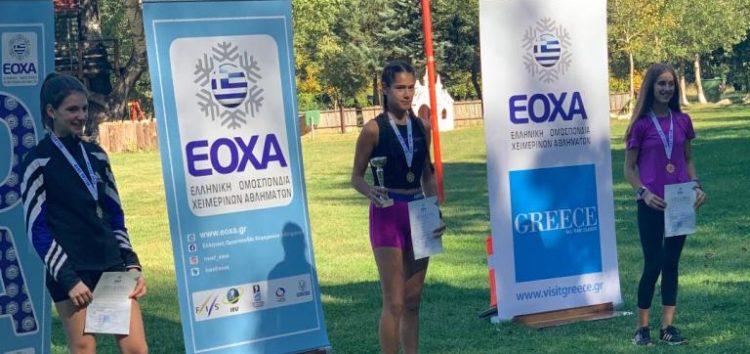 Χρυσό μετάλλιο για την Μαρία Μπέλλη στο Κύπελλο Ελλάδος θερινού διάθλου