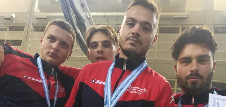 Πρωταθλητής Ελλάδος 2020 ο Ο.ΞΙ.Φ. στο Ξίφος Μονομαχίας Ανδρών