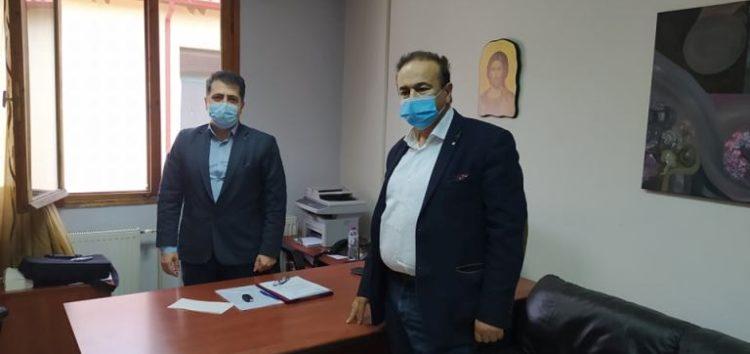 Συνάντηση του βουλευτή Γιάννης Αντωνιάδη με τον διοικητή του νοσοκομείου Φλώρινας