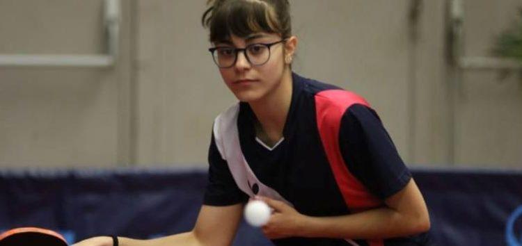 Χάλκινο μετάλλιο για τη Χρυσή Φωτιάδου στο Πανελλήνιο Πρωτάθλημα Νέων Γυναικών