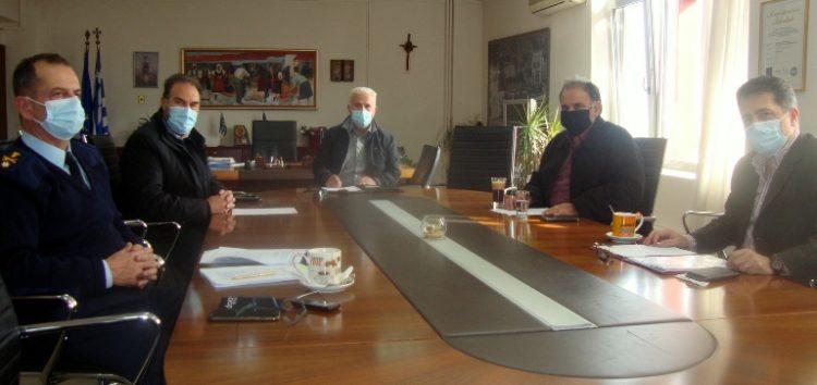 Σύσκεψη στην Π.Ε. Φλώρινας με αντικείμενο τον κορωνοϊό
