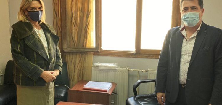 Επίσκεψη της Βουλευτή ΣΥΡΙΖΑ – ΠΣ Φλώρινας Πέτης Πέρκα στο Γενικό Νοσοκομείο Φλώρινας