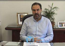 Μήνυμα του Δημάρχου Φλώρινας Βασίλη Γιαννάκη προς τους πολίτες για τον κορωνοϊό