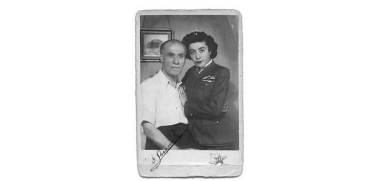 Ο ιατρός Φιλοποίμην Στεφανίδης και η κόρη του Σόνια
