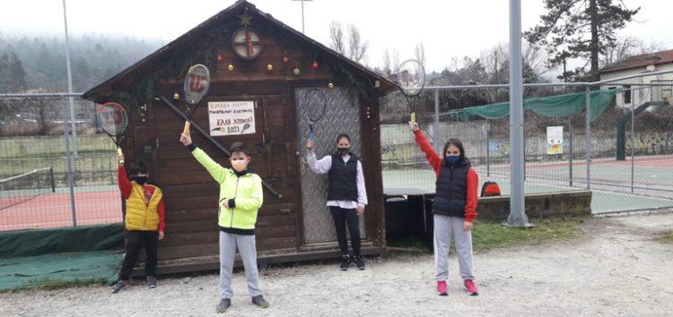 Ευχές από την Ομάδα Τένις της Λέσχης Πολιτισμού Φλώρινας