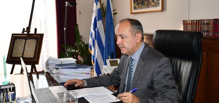 Τηλεδιάσκεψη με τους φορείς της Π.Ε. Φλώρινας είχε ο υφυπουργός Μακεδονίας – Θράκης