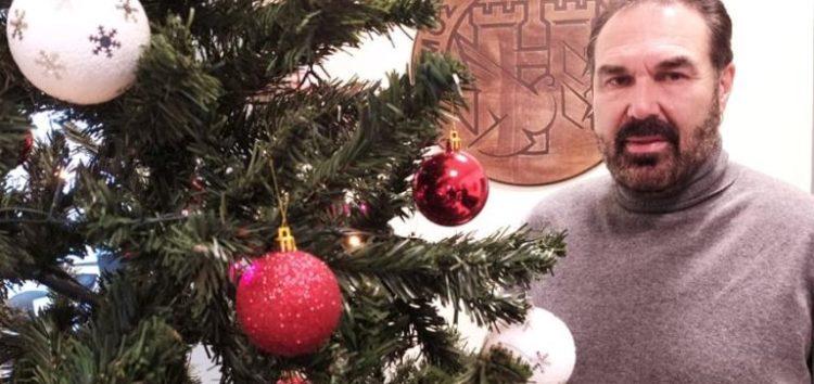 Μήνυμα του Δημάρχου Φλώρινας για τα Χριστούγεννα και την Πρωτοχρονιά (video)