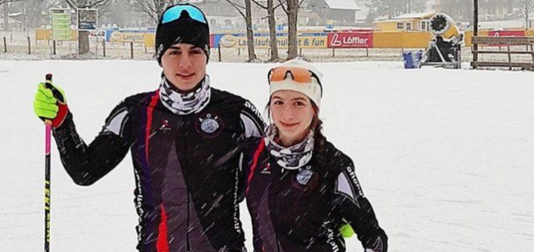 Στην Αυστρία με την Εθνική ομάδα Χιονοδρομίας η Νεφέλη Τίτα και ο Αθανάσιος Γάστης